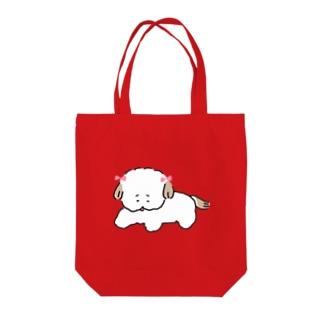 シーズーのシズヨちゃん Tote bags