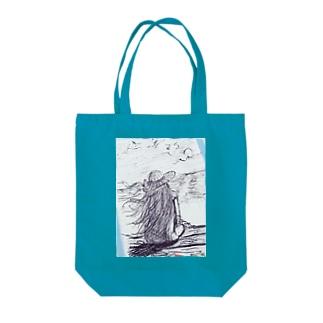 ブレイクマイハー Tote bags