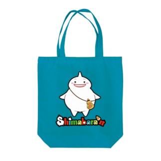 しまばらん(立ver.2) Tote bags