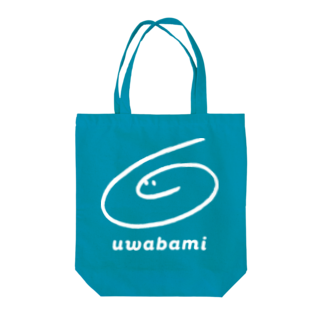 BAMI SHOPの白bamiくん Tote bags