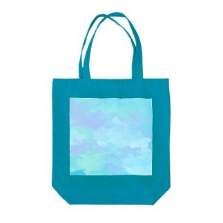 水彩 Tote bags