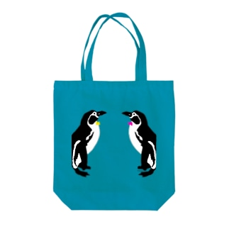ペンギン Tote bags