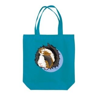 アビシニアンモルモットのモルちゃん Tote bags