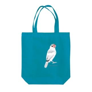 春まち桜文鳥 Tote bags