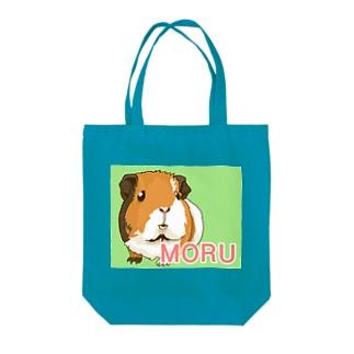 MORUちゃん Tote bags