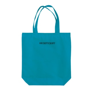 ABCDEFUCKOFF Tote bags