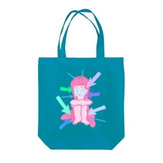 SHISEN NI HISOMU Tote bags