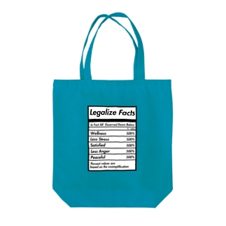 ZIBTRIC - Legalize fact Tote bags