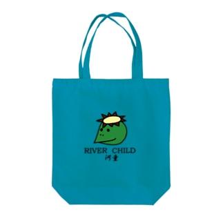カッパ Tote bags