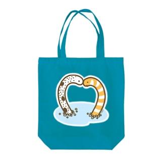 チンアナゴ・ニシキアナゴ Tote bags