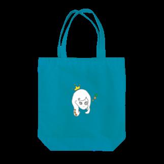 Kuma_tsuのつり目な姫 Tote bags