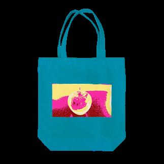 rinne_yuyuのアップル Tote bags