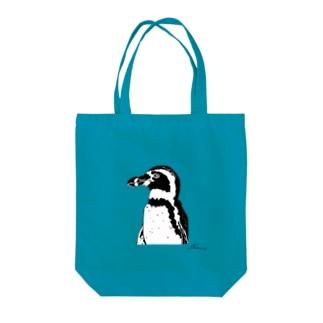 フンボルトペンギン〈モノクロ〉 Tote bags