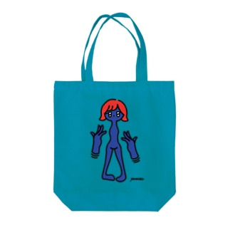 flying hands Tote bags