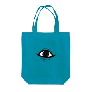 ニタニタ Tote bags