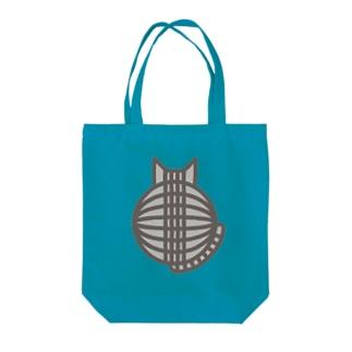 猫の丸い背中(サバトラ) トートバッグ Tote bags