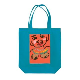 アフリカの女 Tote bags