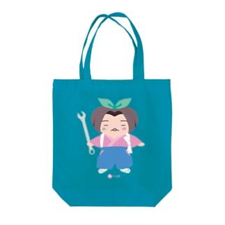 桃寸法師 Tote bags