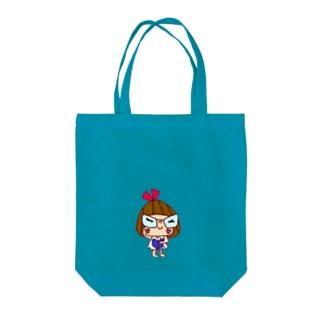 ざますリボンちゃん Tote bags
