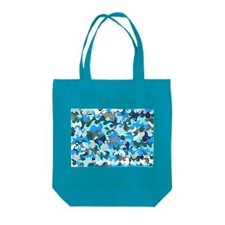 ナミナミナミ〜 Tote bags