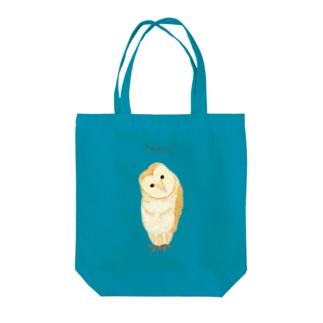 Pardon? メンフクロウ Tote bags