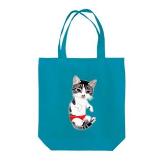 ダイちゃん Tote bags