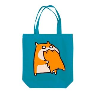 共食い Tote bags
