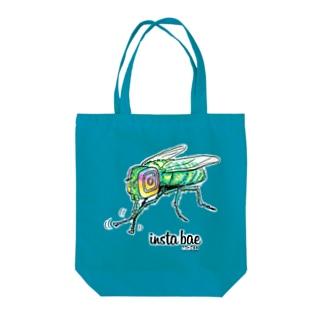 インスタバエ Tote bags