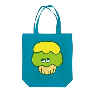 かっぷけーきさん(クリームのせ) Tote bags
