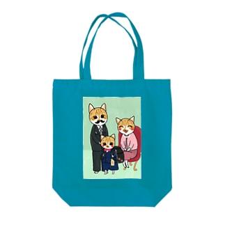みっちゃの入学祝い Tote bags