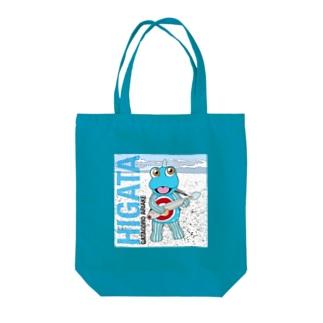 HIGATAと超魚 トートバッグ