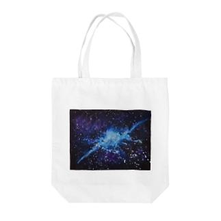 銀河 Tote bags