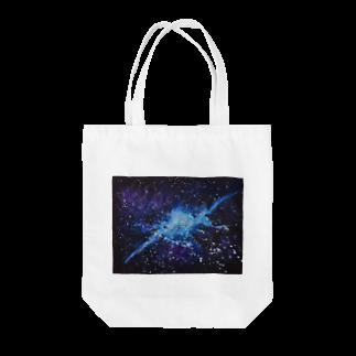 。(テン)オリジナルの銀河 Tote bags