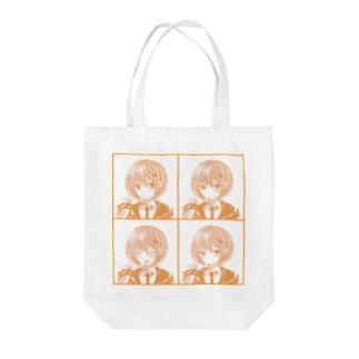 喜怒哀楽-ぽわんちゃん- Tote bags