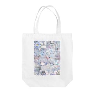 あんしん×リスカちゃん milk  Tote bags