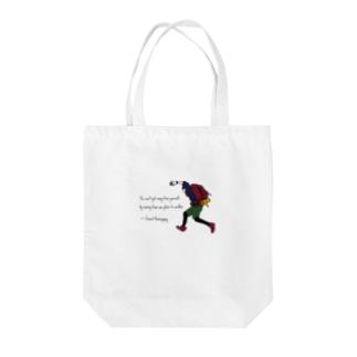【英語名言】ヘミングウェイ Tote bags