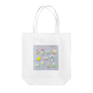 パステルカラーの子たち Tote bags