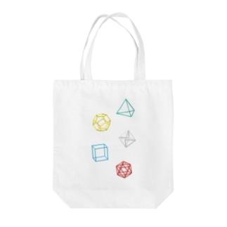 Regular Polyhedron トートバッグ