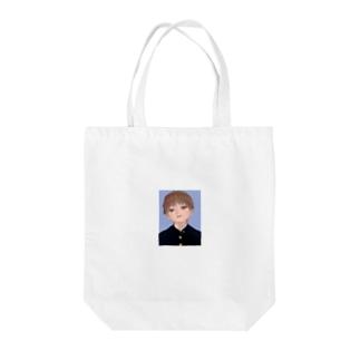 卒アルの男の子 Tote bags
