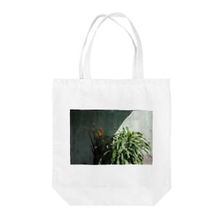 花/葉 Tote bags