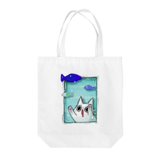 SAKANADA Tote bags