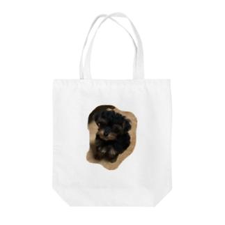 おすわりころちゃん Tote bags