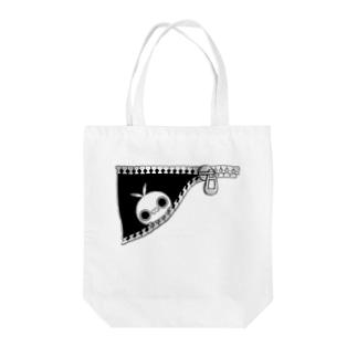 クレイジー闇うさぎ(ちらり) Tote bags