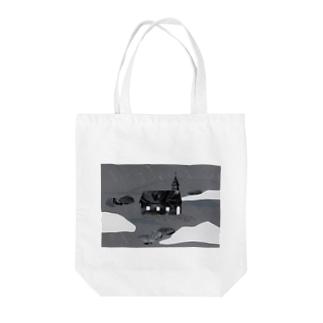 Church Tote bags