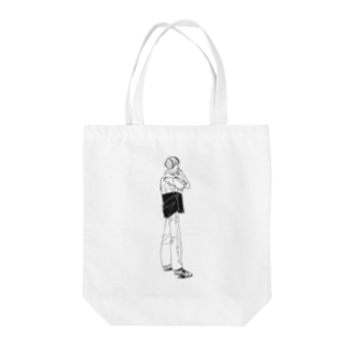 thinking Tote bags