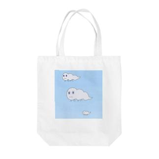 くもさん Tote bags