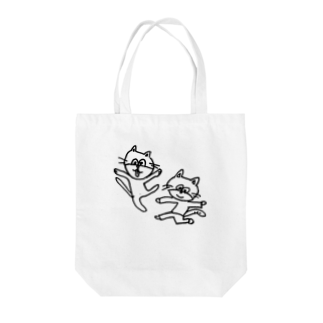 ginganoyoruのねこレンジャー Tote bags