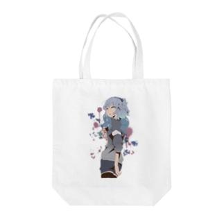 ねぃのグッズ③(ロゴ/背景無し) Tote bags