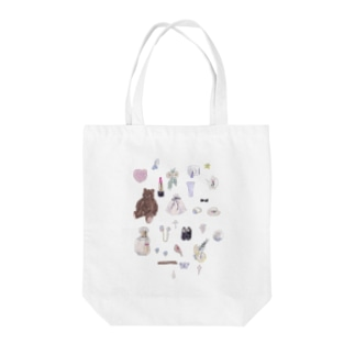 MY LOVE Tote bags