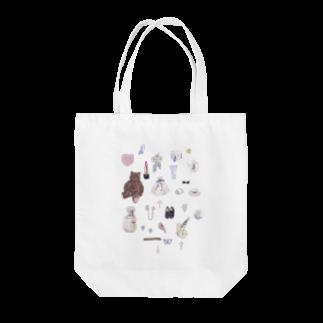 coco da yoのMY LOVE Tote bags